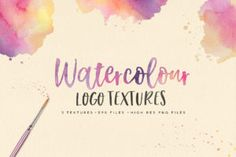 This exclusive freebie is a colourful set of three high resolution watercolour textures perfect for creating logo designs. These Watercolor Logo Textures can also be used for other design projects such as apparel, prints, invitations, stationery and more.    You can buy the full set of 30 Watercolor Logo Textures Bundle on Creative Market.  SCREENSHOTS