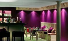 Vanity Mirror, Vanity, Living Room, Valance Curtains, Home, Interior, Bar, Home Decor, Restaurant Bar