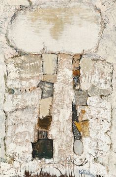 Aleksander Kobzdej (Russian/Polish, 1920-1972) White Tonic. | Auction 2896B | Lot 397 | Sold for $10,455 Russian Art, Contemporary Paintings, Modern Art, Abstract Art, Auction, My Arts, Polish, Fine Art, Prints