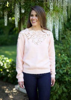 Felicity Lace Detail Sweater – Shop Lombard and Fifth