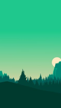 58 Super Ideas For Landscape Illustration Vector Galleries Minimal Wallpaper, Cool Wallpaper, Iphone Wallpaper, Green Wallpaper, Love Wallpaper Backgrounds, Beautiful Wallpaper, Trendy Wallpaper, Phone Backgrounds, Landscape Wallpaper