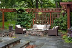 Woodcreek Ct. Burr Ridge, IL. - traditional - patio - chicago - by Rolling Landscapes Inc.