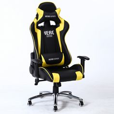 인체 공학적 시리즈 임원 레이싱 스타일 컴퓨터 게임 사무실 의자 로봇 눈 컴퓨터 의자 e 책상 의자 베개