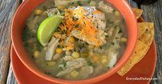White chicken chili - Everyday Dishes & DIY