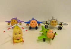 Jay Jay Jet Plane JJ Tracy Snuffy Big Jake Herky Helo Animation TV 2002 Lot C Several lots available at mastoyshop on ebay
