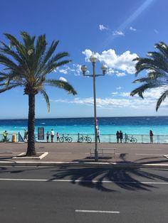Promenade des Anglais, Nice France, French Riviera