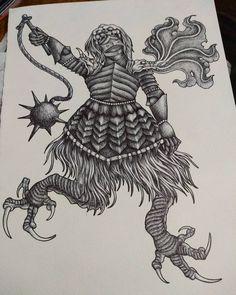 "19 Me gusta, 0 comentarios - Nilson De La Ossa (@nils_onfire) en Instagram: ""Morning Star⚔️🛡️ . . #knight #tattoolover #tattoo #tattoocolombia #tattodesign #ballpointpenart…"" Tattoo Images, Tattoo Photos, Ballpoint Pen Art, Morning Star, All Tattoos, Angel Tattoo Men, Lower Back Tattoos, Big Tattoo, Arm Band Tattoo"