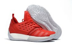 72be85f31 Adidas Harden Vol. 2 Basketball Shoes All Red James Harden Shoes