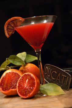 Midnight Ride - blood orange cocktail