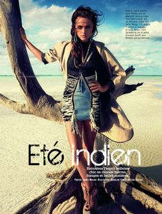 Native Appropriations: Eté Indien: French Glamour gets in on the tribal fashion trends