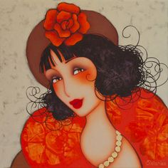 """Beautiful heroines of past "", by Corinne Reignier"