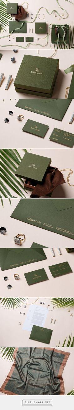 Atolye Gozde Branding on Behance | Fivestar Branding – Design and Branding Agency & Inspiration Gallery