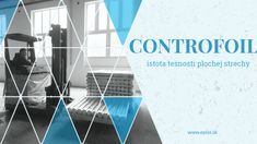 plochá strecha bez dier sa volá CONTROFOIL iskrová skúška miluje CONTROFOIL Flat Roof, Wind Turbine, Loft, Lofts, Attic Rooms, Attic, Mezzanine