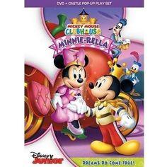 Mickey Mouse Club: Minnie-Rella (DVD + Castle Pop-Up Play Set) (Widescreen) - Walmart.com