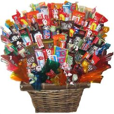This is a gift basket!  Easy to assemble and I guarantee it will get a smile on the recipients face!