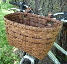 'Tis the season to break out the bikes ... make your own Bicycle Basket from this month's free weaving pattern!