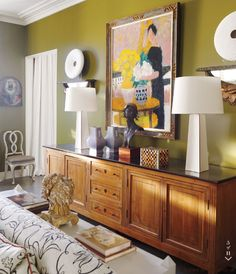 Quirky color on the walls Portfolio | Nicky Haslam Design
