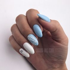 nailartdesigns herbstblatt coffinnails naildesign manicures nailart autumn ideas ideen send nail art in Send Herbstblatt Nail Art ideas in autumn Send Herbstblatt Nail Art ideas in autumn You can find Manicures and more on our website Cute Acrylic Nails, Cute Nails, Pretty Nails, My Nails, Acrylic Nails For Summer Almond, Acrylic Summer Nails Beach, Tropical Nail Art, Tropical Nail Designs, Nail Polish