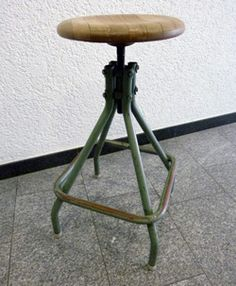 Industriehocker 60er