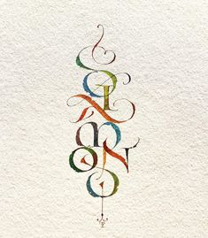 How To Do Calligraphy, Calligraphy Types, Calligraphy Drawing, Watercolor Lettering, Calligraphy Alphabet, Typography Letters, Illumination Art, Fancy Letters, Beautiful Lettering