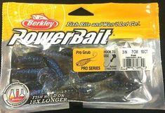 Berkley Powerbait Flute worm Soft Fishing Bait 2PK