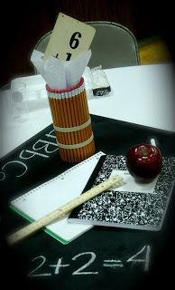 little ant design: back to school or centerpieces with a purpose
