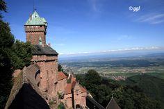 Haut-Koenisgbourg Castle (Elsass), France