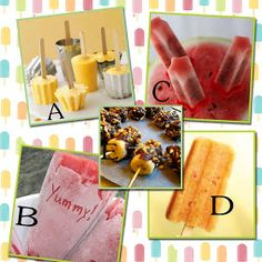 It's Written on the Wall: 50+ Homemade Popsicle Recipes-Treat for the Heat!