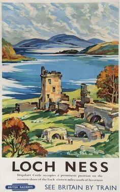 Loch Ness - British Railways - 1960's - (Kenneth Steele) -