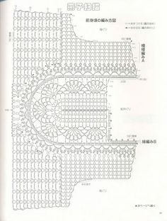 Receitas de Crochet: Túnica fácil de crochet