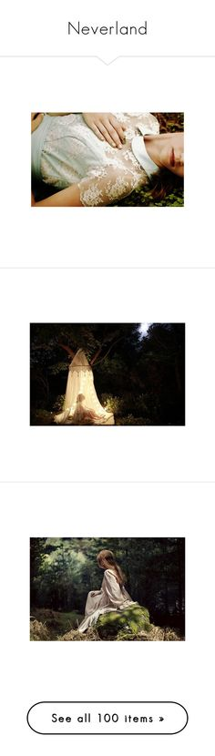 """""""Neverland"""" by einsteinium21 ❤ liked on Polyvore featuring Miss Selfridge, backgrounds, pictures, people, photo, photos, fairytale, photography, models and dresses"""