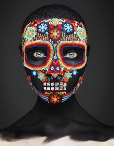 Mexican Mask Editorials : Hunger Magazine 'Epitaph'
