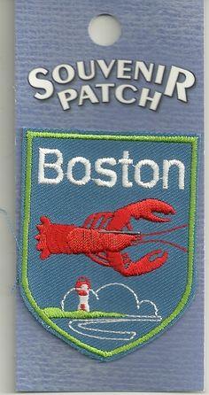 Souvenir Patch City of Boston Massachusetts | eBay