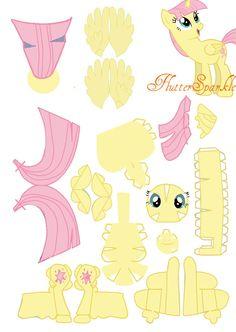 FlutterSparkle Papercraft by foxigirl1