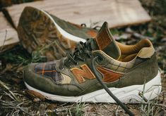 Ball and Buck New Balance 585 Plaid | SneakerNews.com