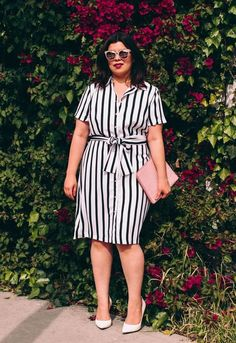 50 Womens Work Outfits for Plus Size Ideas 4 Source by fabiolanishida p. - Plus Size Work Outfits Mode Top, Mode Plus, Vestidos Plus Size, Plus Size Dresses, Plus Size Shirt Dress, Trendy Dresses, Dresses For Work, Maxi Dresses, Resort Dresses