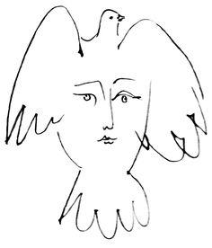 pablo picasso - la visage de la paix (1953)