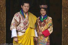 DragonKing Jigme Khesar Namgyel Wangchuck, and his wife Jetsun Pema, of Buthan