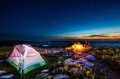 spot along along Lake Michigan is known for being an ideal hammock camping area and has an ample supply o
