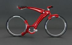 Great nice red bike