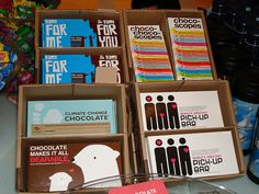 chocolate packaging - Fao Schwartz