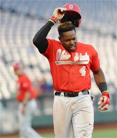 Ronnie Dawson last likely tipped his cap to his OSU career, a prospect to be taken high in next week's MLB draft. Baseball 2016, Osu Baseball, Buckeyes, Mlb, Career, Seasons, Sports, Hs Sports, Carrera