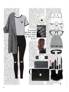 """""""Untitled #8"""" by cata13mota on Polyvore featuring Topshop, Chicnova Fashion, Dr. Martens, MICHAEL Michael Kors, Ray-Ban, Local Heroes, Marc Jacobs, Lancôme, Daniel Wellington and swag"""