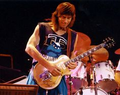 Tom Scholz a rare pic. The man who gave us 'More Than A Feeling'. Saw BOSTON in concert in June. TOM only came out for that song. He spent the rest of the concert backstage. That's very odd. Les Paul, Brad Delp, Tom Scholz, Boston Band, Steve Perry, Boogie Woogie, Ringo Starr, Van Halen, Concert Posters