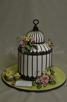 Bird Cage House Warming Cake (link does not lead to original source and/or tutorial).