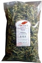 VERBENA $6.70 Verbena is a French favorite for after-meal herbal tea. Let a few leaves infuse in hot water, relax and enjoy the soothing effect of your tisane à la verveine.  The origin of Provence Epice dates back to the 1940's. The Marseille-based Laboratoire d'Herboristerie Générale started then as a merchant of herbs and spices. Today its successor Provence Epice carries a large variery of herbs, spices and related foods.  50 grams / 1.8 oz