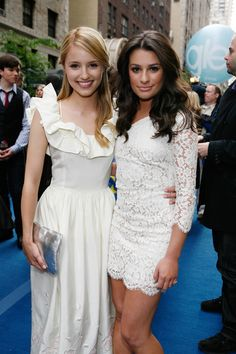 dianna agron and lea michele lovee them