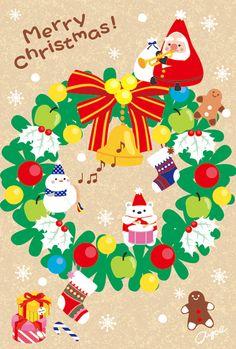 さんかくサンタのクリスマス