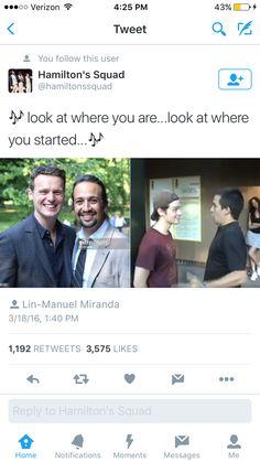 Lin-Manuel Miranda and Groffsauce makes my heart happy