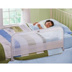 A bedrail to use while cosleeping.  We do not use a crib so we have used a bedrail on our bed with all four children.